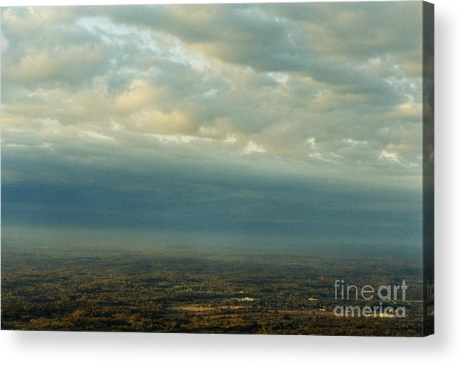Birds Acrylic Print featuring the photograph A Majestic Birds Eye View by Thomas Luca