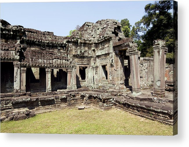 Ancient Acrylic Print featuring the photograph Angkor Archaeological Park by Gloria & Richard Maschmeyer