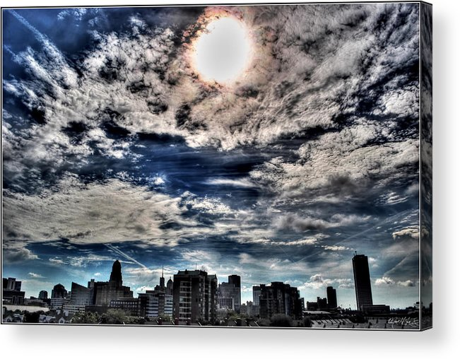 Acrylic Print featuring the photograph Beauty Of The Morning Sky by Michael Frank Jr