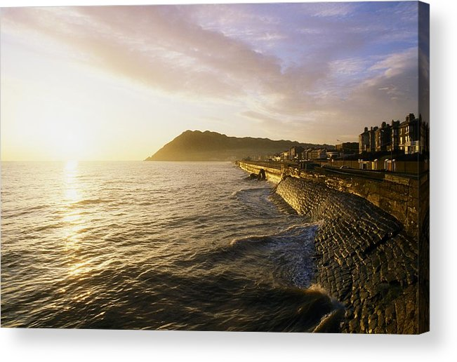 Communities Acrylic Print featuring the photograph Bray Promenade, Co Wicklow, Ireland by The Irish Image Collection