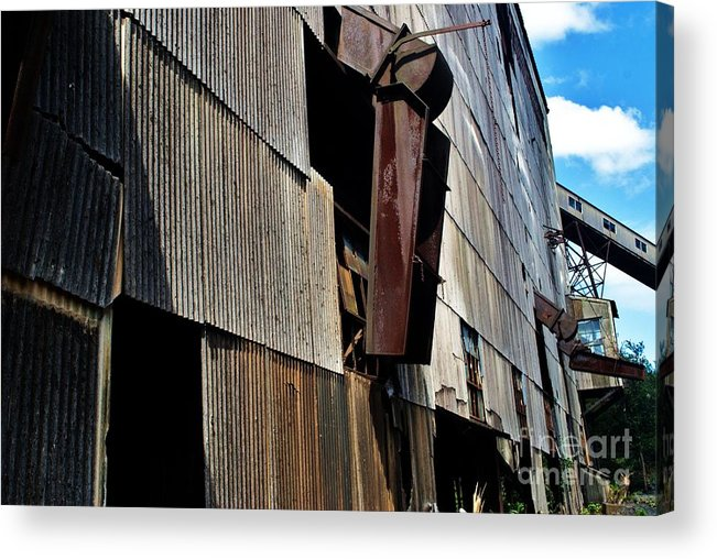 Acrylic Print featuring the photograph Chute 1 by TSC Photography Timothy Cuffe Jr