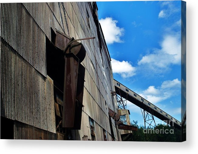 Acrylic Print featuring the photograph Chute 2 by TSC Photography Timothy Cuffe Jr