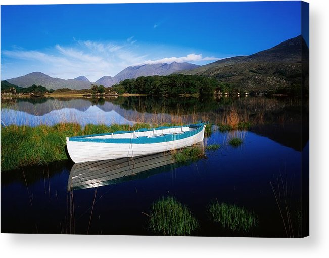 Boat Acrylic Print featuring the photograph Co Kerry, Lakes Of Killarney by The Irish Image Collection