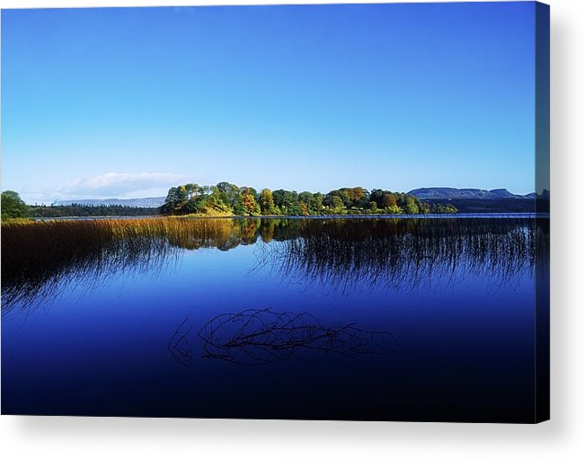 Beauty In Nature Acrylic Print featuring the photograph Cottage Island, Lough Gill, Co Sligo by The Irish Image Collection