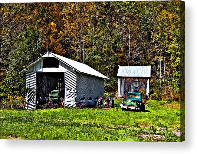 West Virginia Acrylic Print featuring the photograph Country Life by Steve Harrington