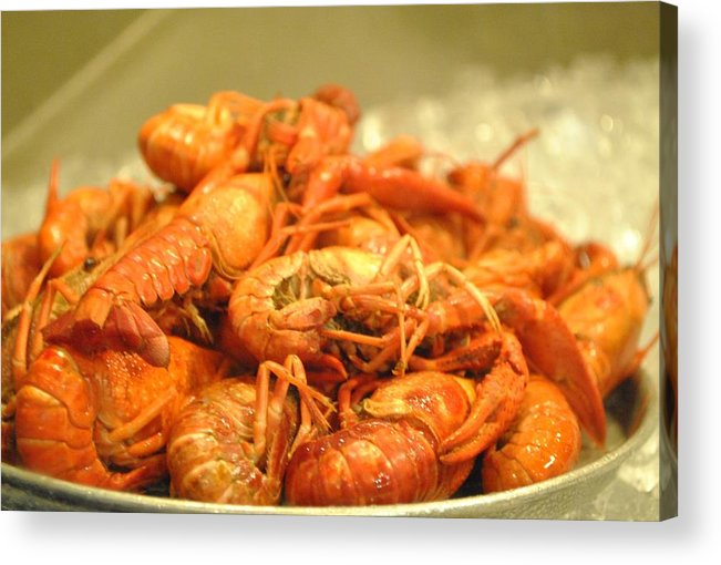 Crawdad Acrylic Print featuring the photograph Crawdad Delight by Nimmi Solomon