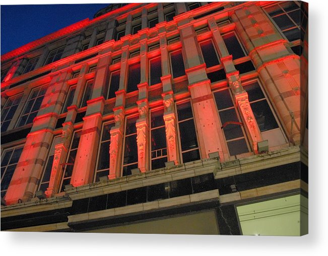 Building Acrylic Print featuring the photograph Dominance by