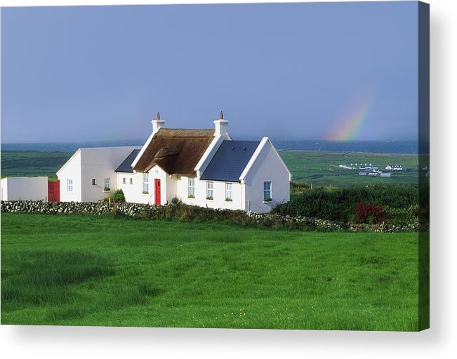 Beauty In Nature Acrylic Print featuring the photograph Doolin, Co Clare, Ireland Renovated by The Irish Image Collection