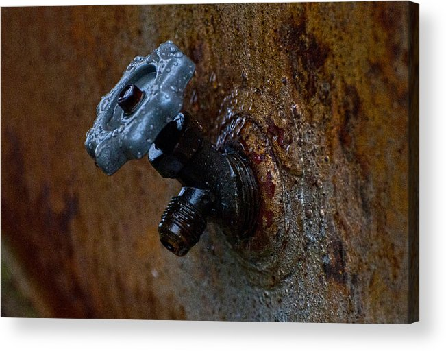 Faucet Acrylic Print featuring the photograph Faucet by Wilma Birdwell