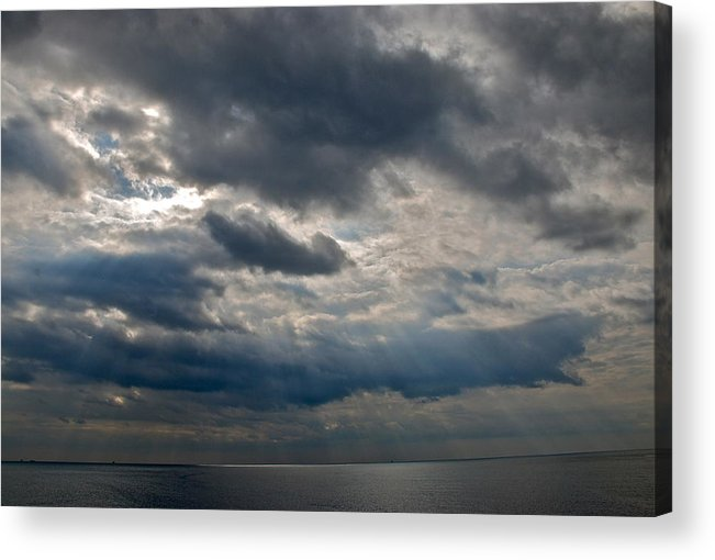 Gozo Acrylic Print featuring the photograph Gozo Skies by Eric Tressler