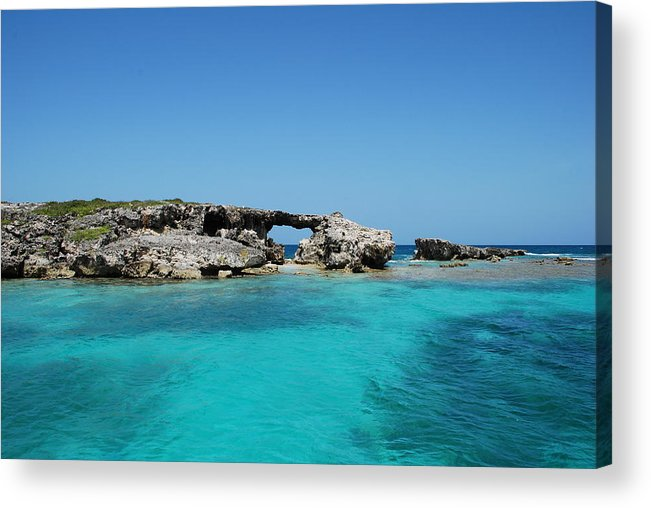 Hells Gate Acrylic Print featuring the photograph Hells Gate by Kathy Gibbons