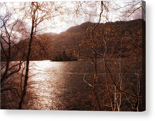 Lkg Photography Acrylic Print featuring the photograph Inveruglas Isle by Laura George