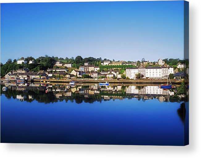 Clear Sky Acrylic Print featuring the photograph Kinsale, Co Cork, Ireland by The Irish Image Collection