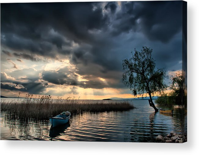 Nature Acrylic Print featuring the photograph Lake - 3 by Okan YILMAZ