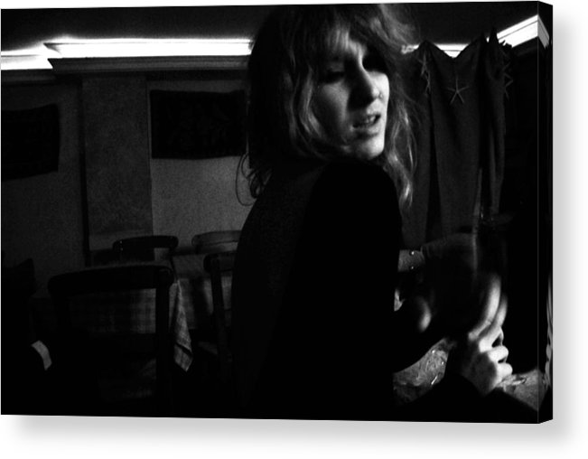 Black And White Acrylic Print featuring the photograph Lifestories by George Koroxenidis