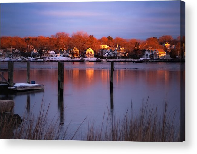 Mystic Winter Photograph Acrylic Print featuring the photograph Mystic Winter by John Pattenden