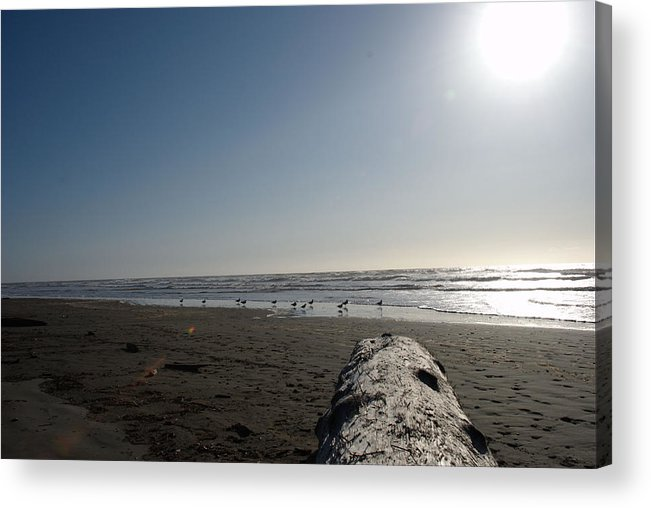 Sunset Acrylic Print featuring the photograph Ocean At Peace by Michael Merry