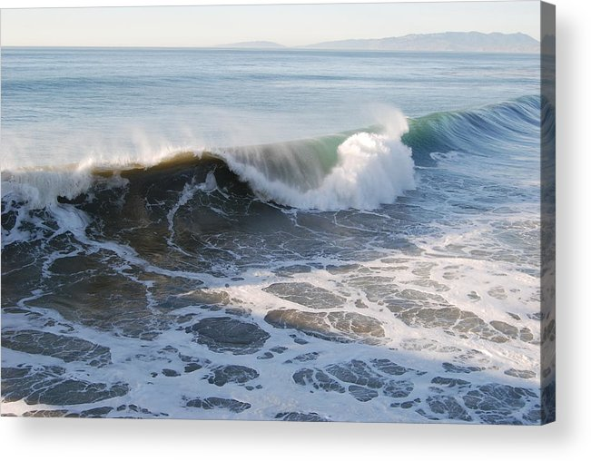 Water Acrylic Print featuring the photograph Pacific Ocen by Richard Adams