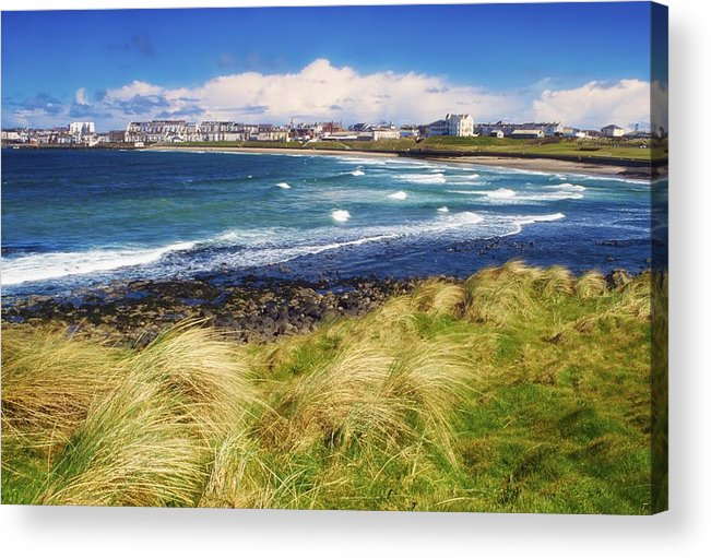 Bay Acrylic Print featuring the photograph Portrush, Co Antrim, Ireland Seaside by The Irish Image Collection