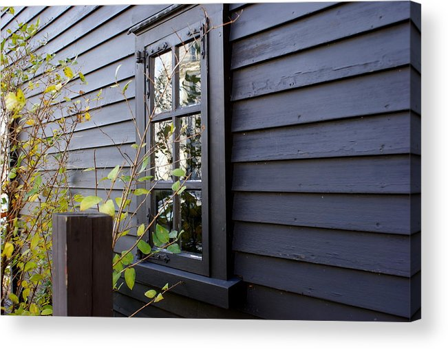 Window Acrylic Print featuring the photograph Reflecting History by Lois Lepisto