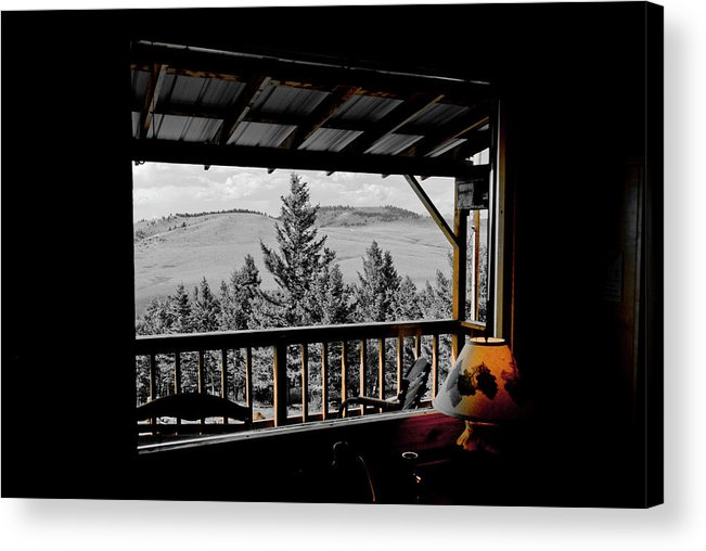 Americas Acrylic Print featuring the photograph Rustic View Of The Great Outdoors by Roderick Bley