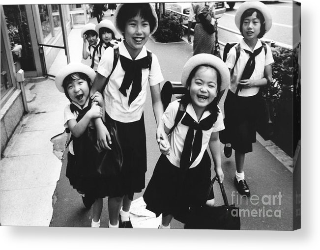 Tokyo Acrylic Print featuring the photograph Tokyo by Bernard Wolff
