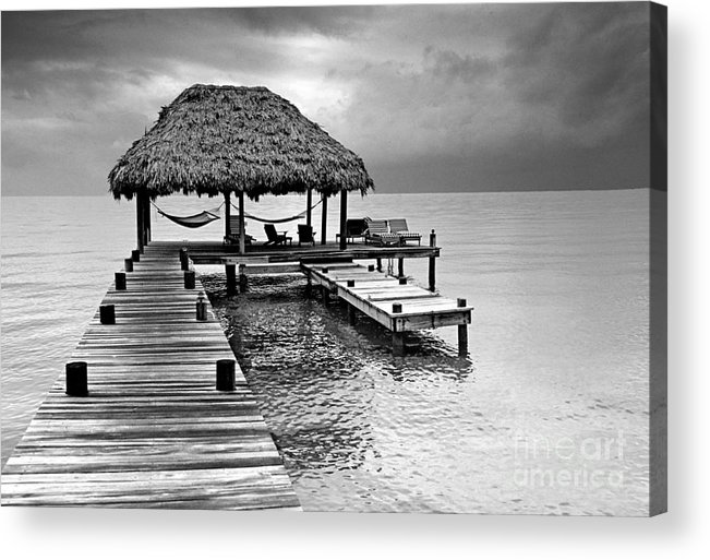 Ocean Acrylic Print featuring the photograph Tranquility by Bruce Bain