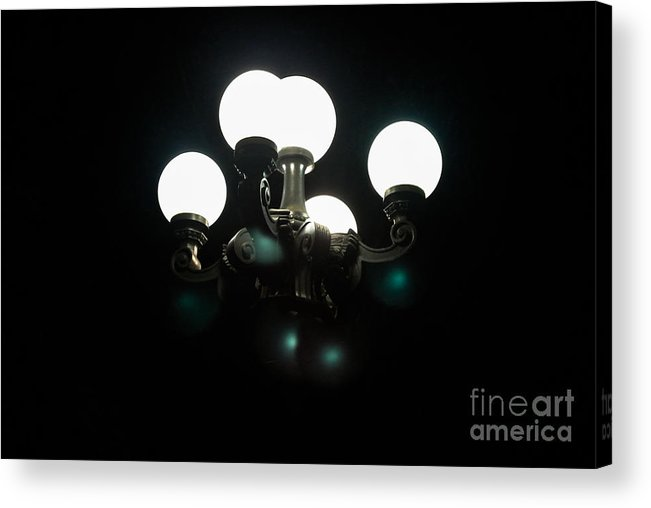 Landscape Acrylic Print featuring the photograph Your Light In The Dark by Melissa Haley