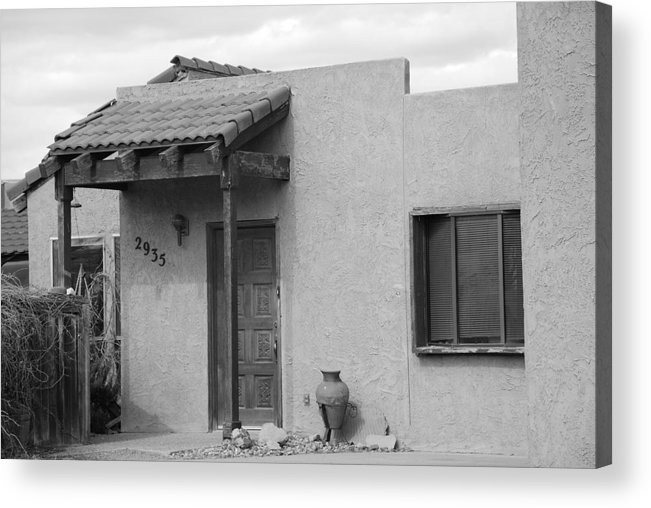 Architecture Acrylic Print featuring the photograph Adobe House by Rob Hans