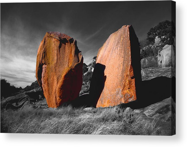 Photography Acrylic Print featuring the photograph Enchanted Rock Megaliths by Tom Fant