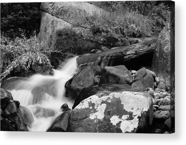 Waterfall Acrylic Print featuring the photograph Hidden Falls by Brian Anderson