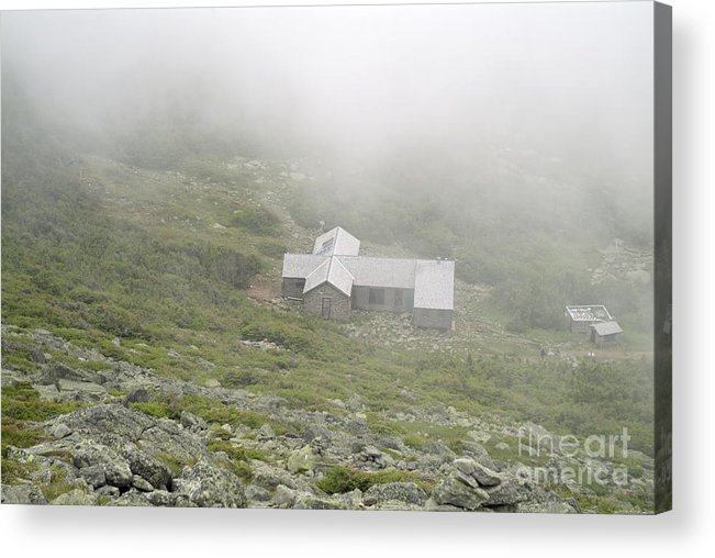 Hike Acrylic Print featuring the photograph Madison Spring Hut - White Mountains New Hampshire by Erin Paul Donovan