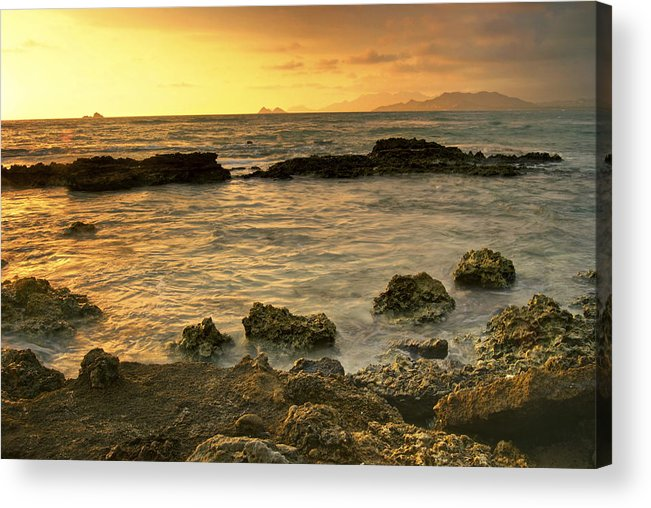 Oahu Acrylic Print featuring the photograph Sunrise Kaneohe by Michael Peychich
