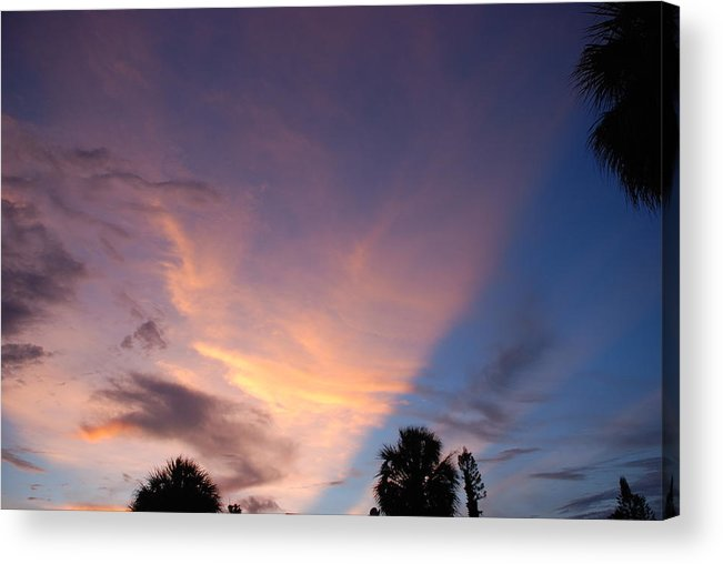 Sunset Acrylic Print featuring the photograph Sunset At Pine Tree by Rob Hans