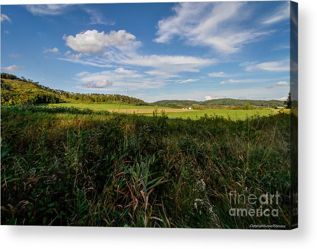 Country Acrylic Print featuring the photograph Wide Open Spaces by Lowell Stevens