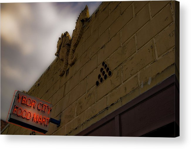 Tampa Acrylic Print featuring the photograph Ybor City by Patrick Flynn
