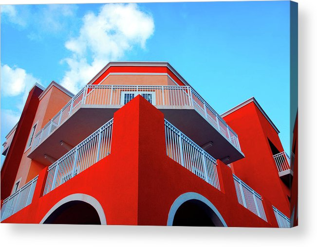 Building Acrylic Print featuring the photograph 11- Deco Sky by Joseph Keane
