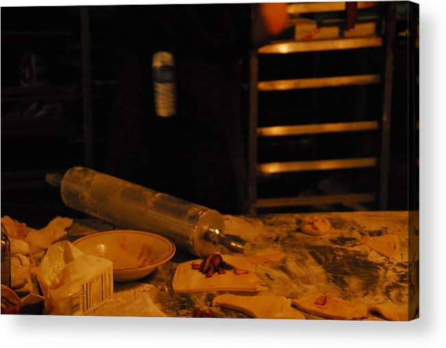 Kitchen Acrylic Print featuring the photograph A Baker by Steven Crown