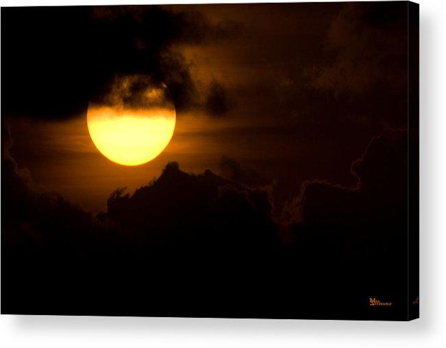 Cloud Acrylic Print featuring the photograph At The End Of The Day by Max Steinwald