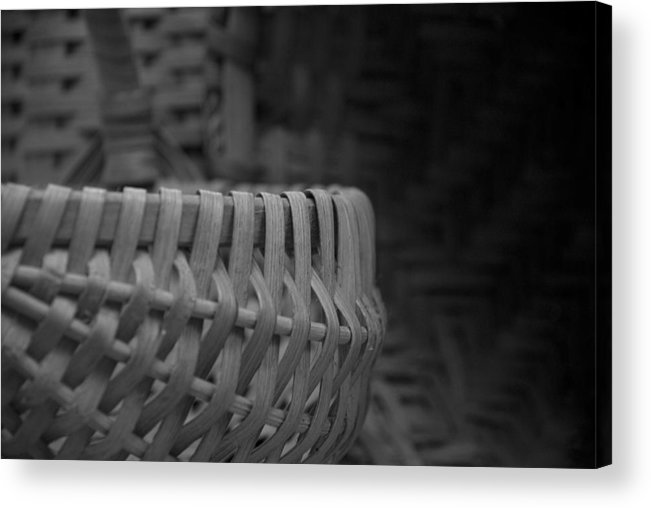 Baskets Acrylic Print featuring the photograph Baskets by Jessica Wakefield