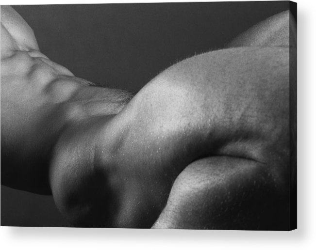 Male Acrylic Print featuring the photograph Bodyscape by Thomas Mitchell