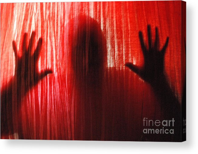 Person Acrylic Print featuring the photograph Break Through 01 by Sean-Michael Gettys