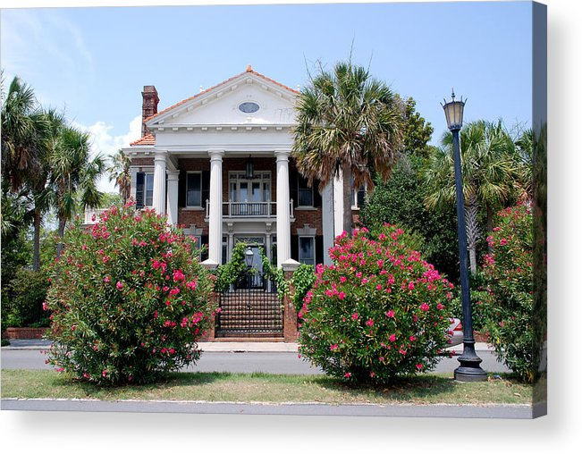 Photography Acrylic Print featuring the photograph Charleston At His Best by Susanne Van Hulst