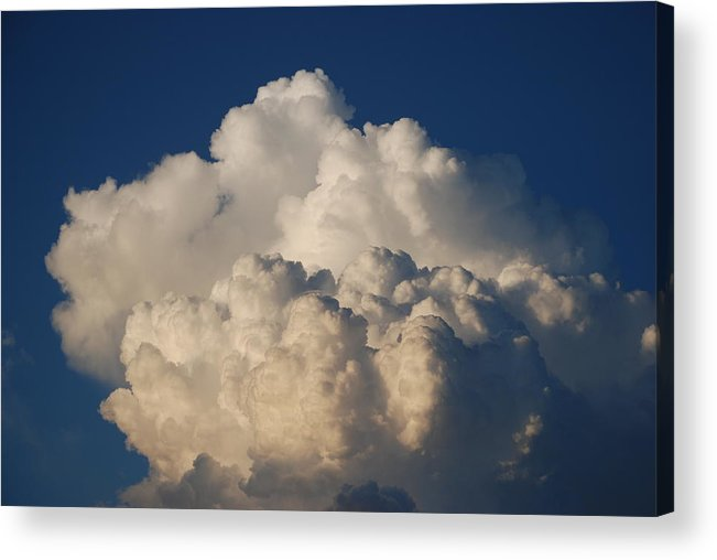 Clouds Acrylic Print featuring the photograph Cloudy Day by Rob Hans