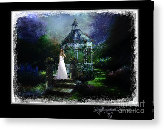 Acrylic Print featuring the photograph Courtney Up Date by Ronald KENNEY