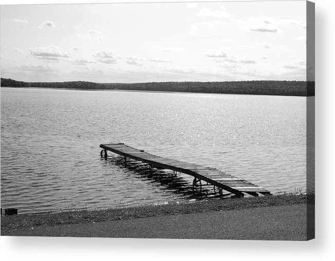 Dock Acrylic Print featuring the photograph Dock by Lisa Hebert