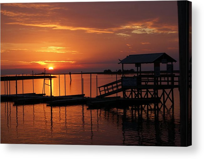 Dock Acrylic Print featuring the photograph Dock Of The Bay by Debbie May