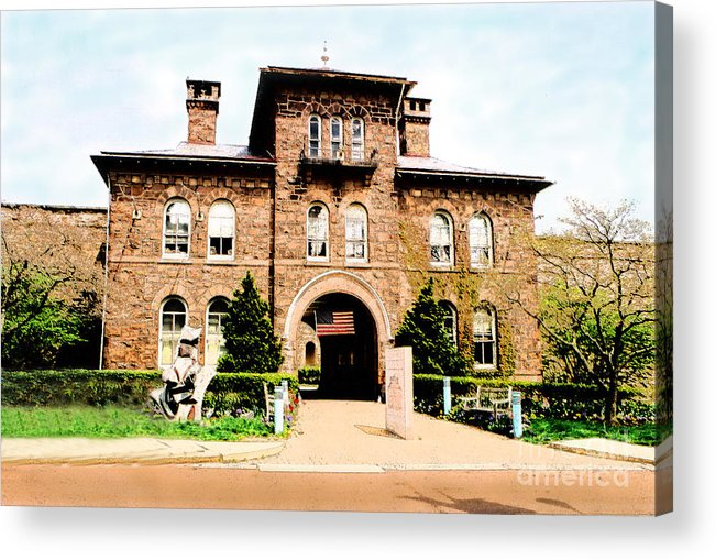 Photography Acrylic Print featuring the photograph Doylestown-michener Museum by Addie Hocynec