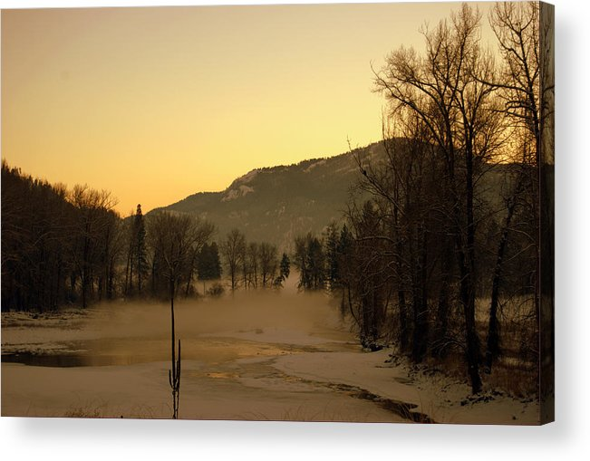 Acrylic Print featuring the photograph Early Morning In Easter Wa by JK Photography