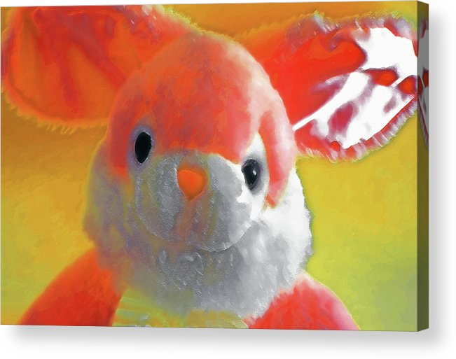 Easter Acrylic Print featuring the photograph Easter Bunny 1 by Steve Ohlsen